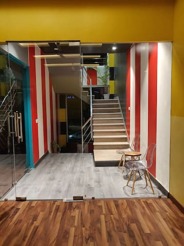 Single Beds at Incredible Hostel
