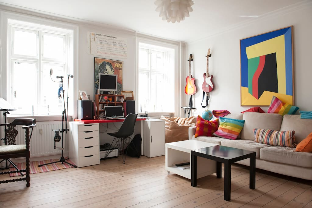 Living room towards the street