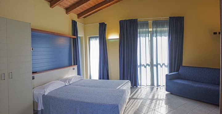 camera nel pieno verde di san Cassiano.