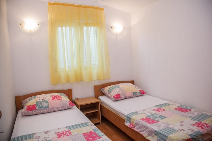 Apartments Milat - Two Bedroom with Terrace and Garden View (A2)