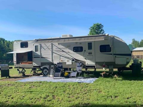 #1 Private camping Mackinac Island & Cheboygan.