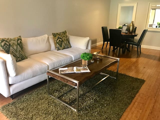 Stylish condo with pool, next to the tram! ID#2717