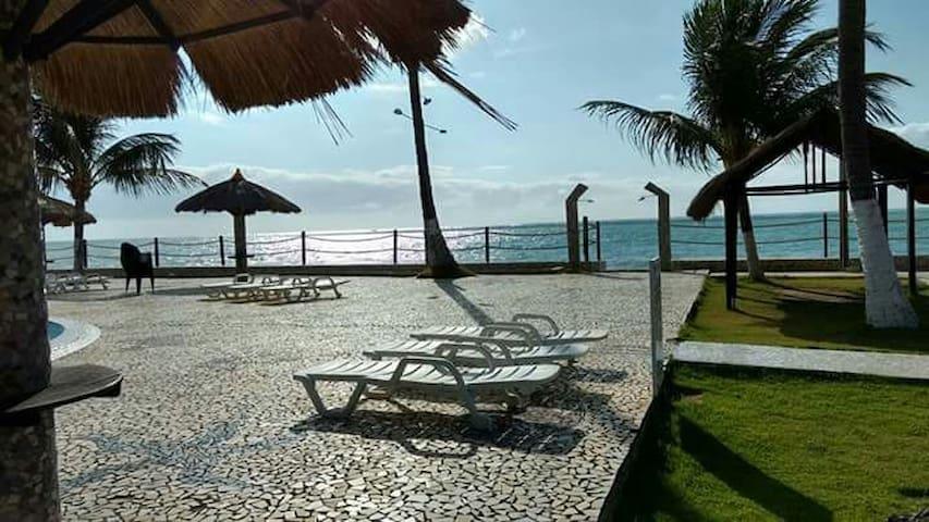 Flat a beira mar em Maragogi-AL - Maragogi - Appartement