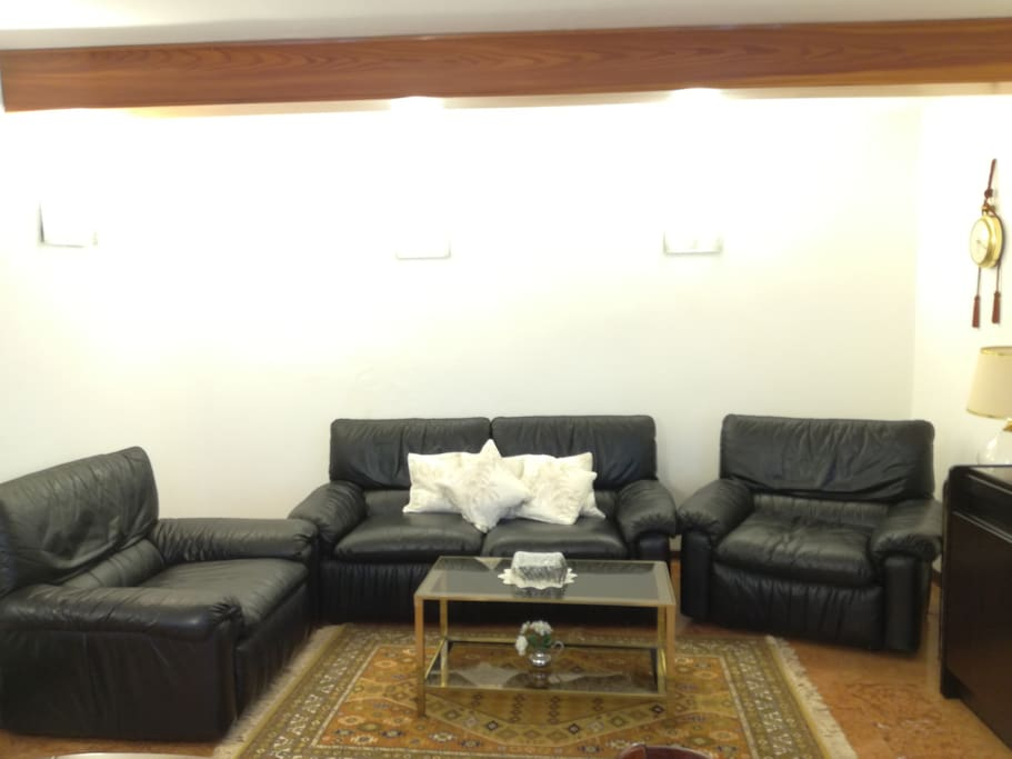 Living room - Sofa  and armchair