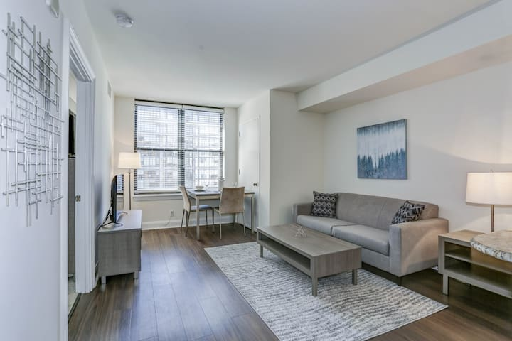Downtown DC High-Rise One Bedroom Apartment