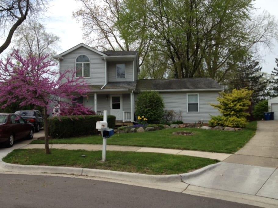 Lovely Big Family House And Garden Ann Arbor Maisons Louer Ann Arbor Michigan Tats Unis