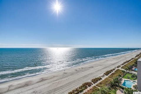 Myrtle Beach Oceanfront Resort February $900 Month