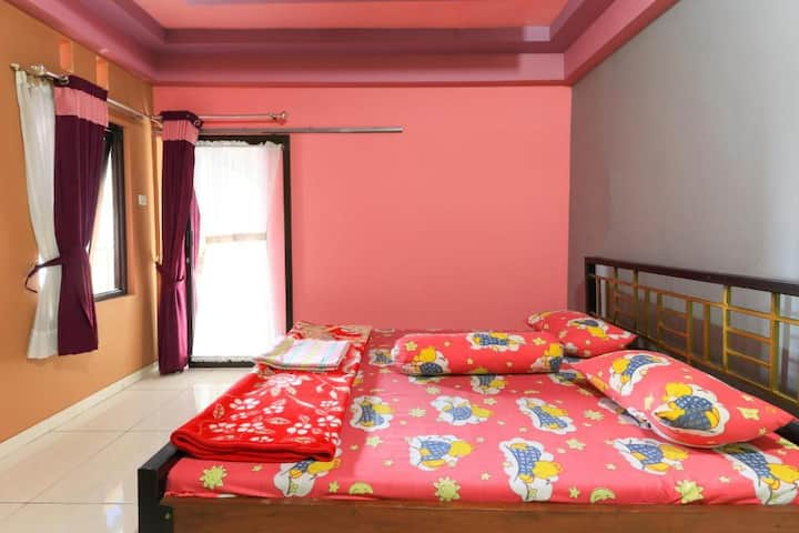 Affordable Clean Room with Free Wi-Fi at Villa Ana