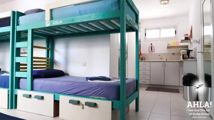 Dormitory Room with Shared Bathroom (6 people)