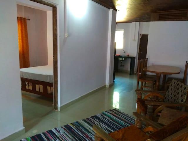 Big Fish House Living Area- Palolem Beach South Goa