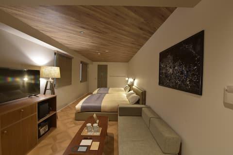 Standard Room with Sofa bed | 奥神楽坂の新築ブティックホテル