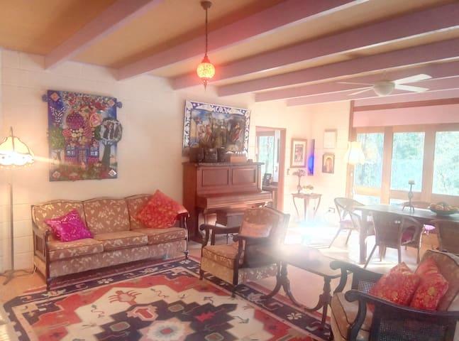 Ferny Hill Artist's Rustic Retreat