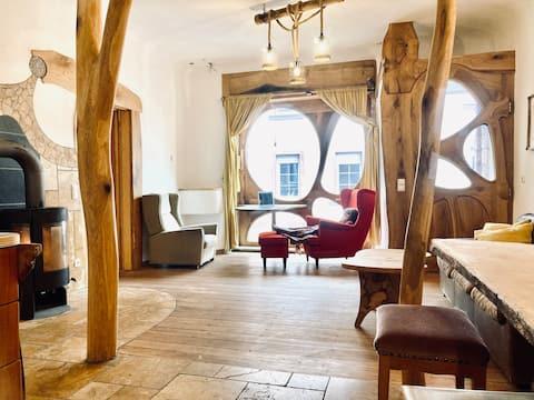 Außergewöhnliche Unterkunft Künstlerhaus Annweiler