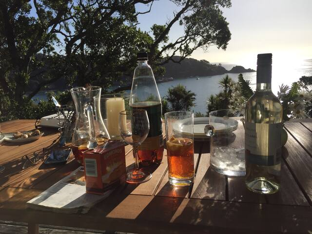 Double Room in 'Awesome View Cottage'! - Great Barrier Island - Bed & Breakfast
