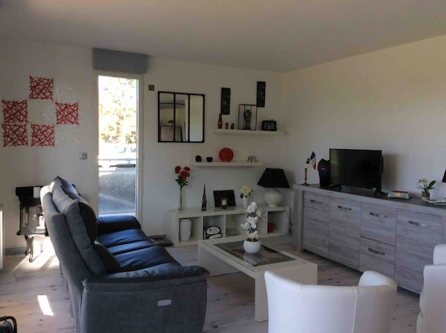 appt luxueux 75 m2 , terrasse 35 m2,centre ville