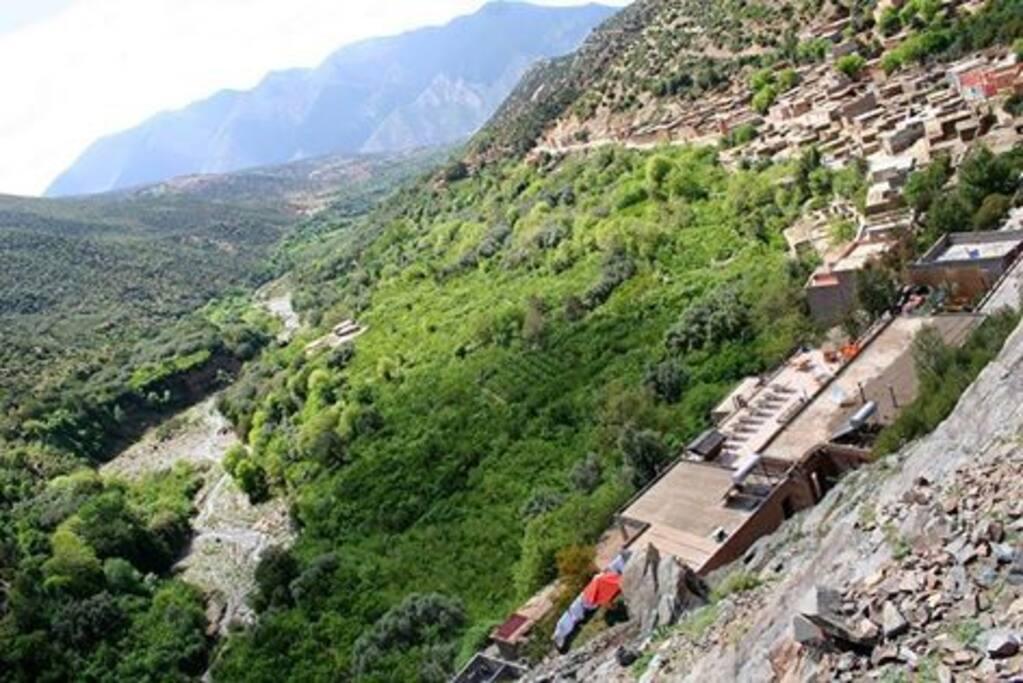 Le village deTassa-ouirgane