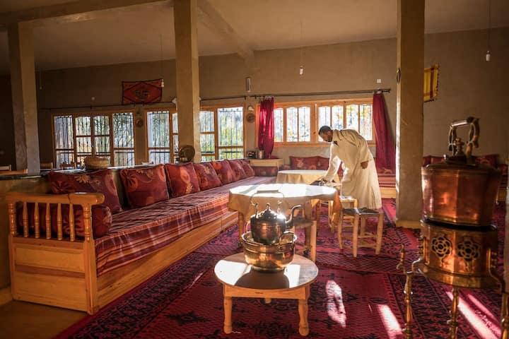 Gite Tamlli. Tradition amazigh et nature rurale