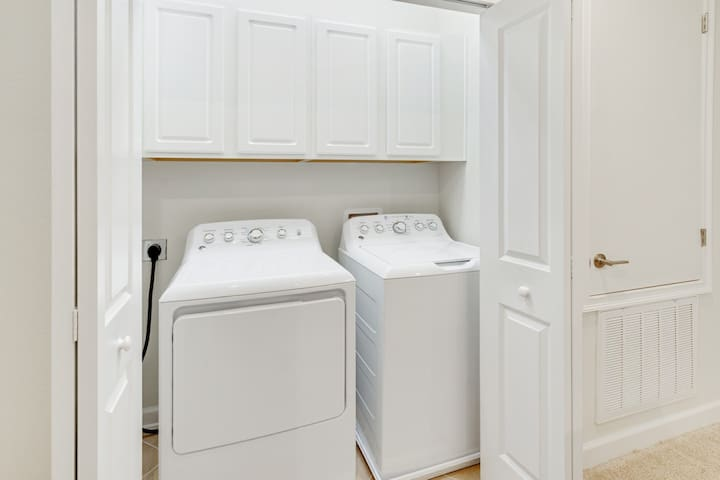 New washer and dryer