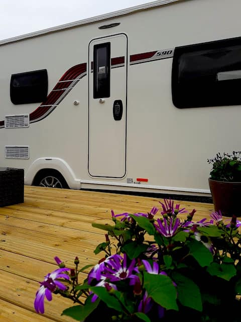 Luxurious Family Touring Caravan - Stunning Views
