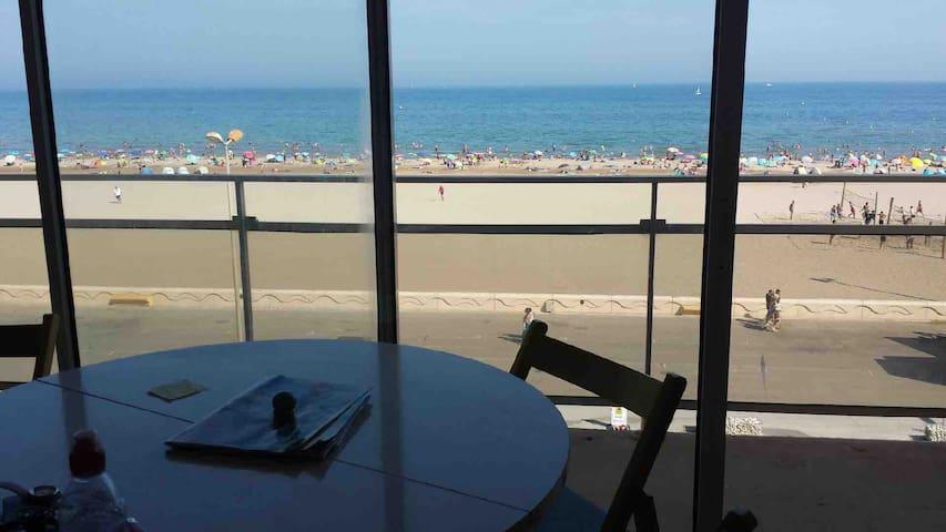 Narbonne plage appartement vue exceptionnelle