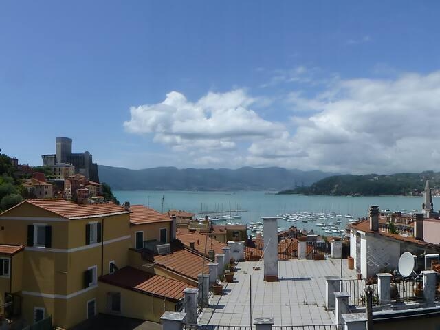 Mansarda Doria, Lerici, Golfo dei Poeti - La Spezia - Apartamento