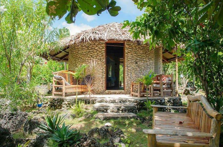 Natur Steinhaus zu vermieten - Siquijor - Dům