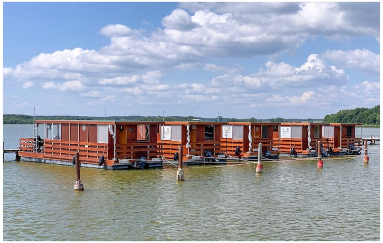 Houseboat with 2 bedrooms on 32m² in Neustrelitz