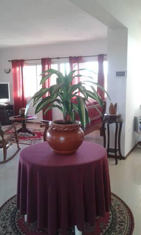 casa de férias na Baía das Gatas - Mindelo - Rumah