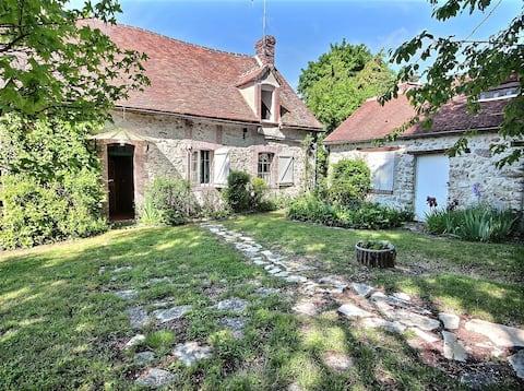 Gîte La Fontaine Bouillante (hus på landet)