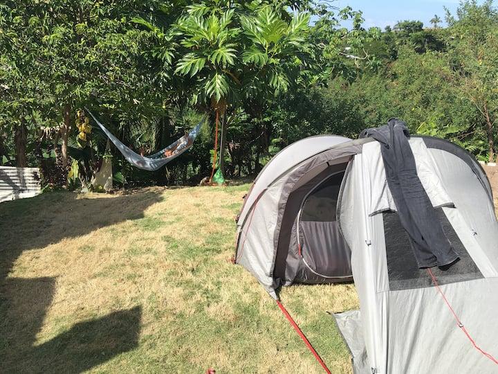 Green Island Camping Jamaica