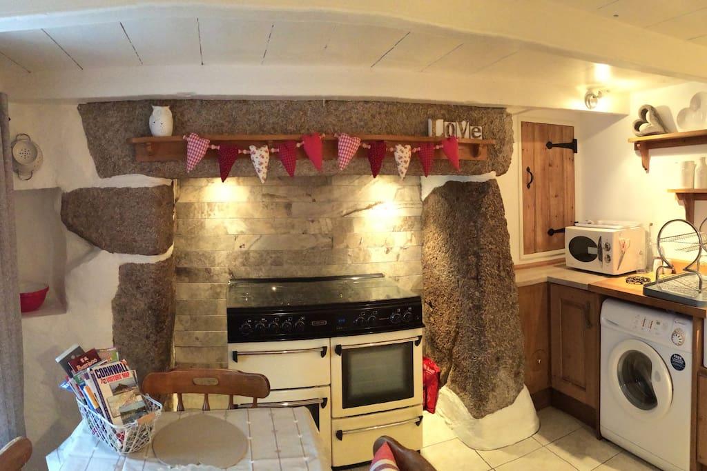 Granite stone kitchen x