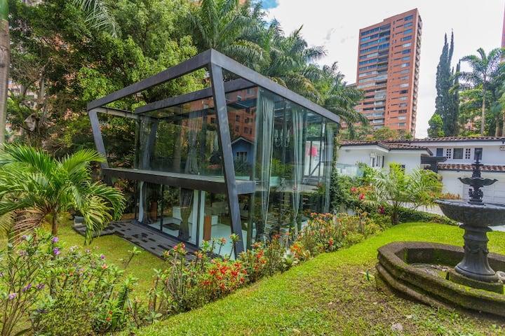 Luxury Villa Medellin Poblado Near Lleras