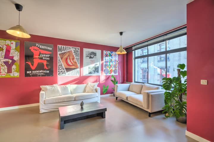 Deluxe Apartment with Rooftop Terrace 3R