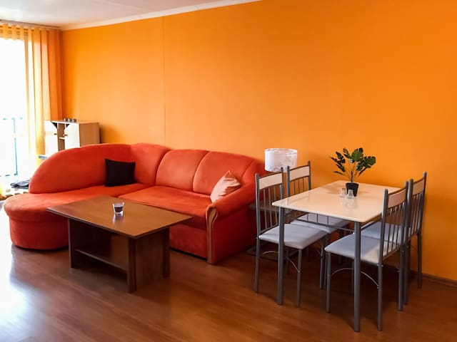 Sunny apartment close to the city center - Košice - Appartement
