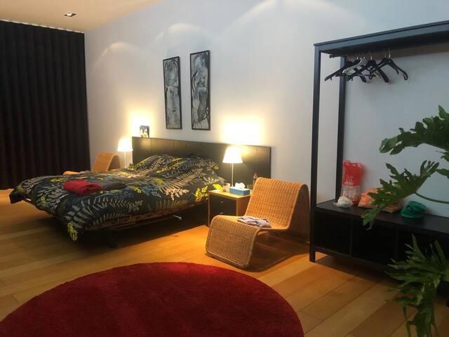 Suite Nr 4, kamer met privé terras en badkamer