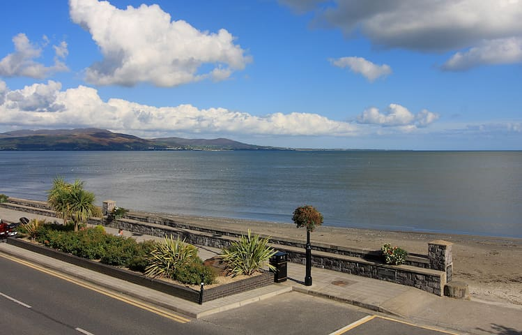 Luxury Beach Front Apartment - Wake up by the Sea - Blackrock