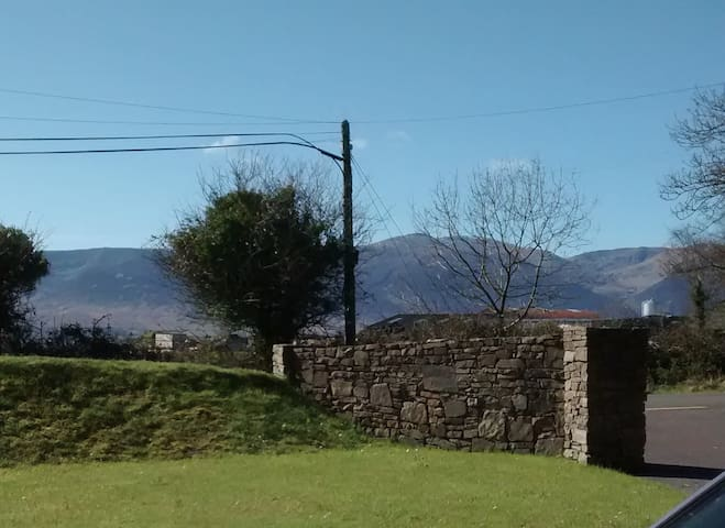Mountain view holiday house near beautiful beaches