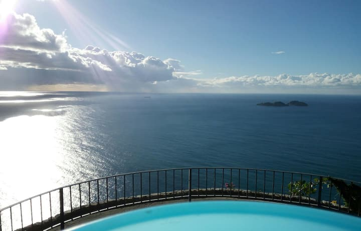 AMORE RENTALS - Villa Arora with Private Pool, Terrace, Sea View and parking near Positano