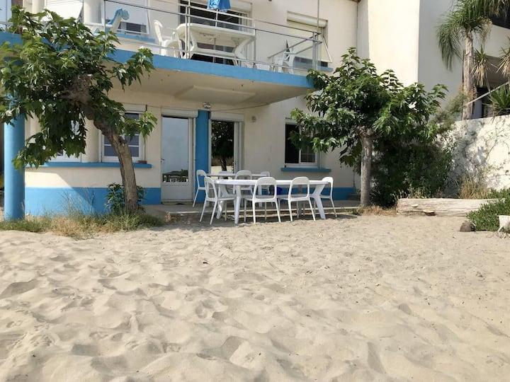 Appartement pieds dans le sable à Carnon