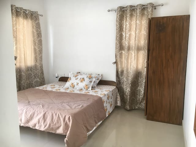 Room with attached bath near Nirma University