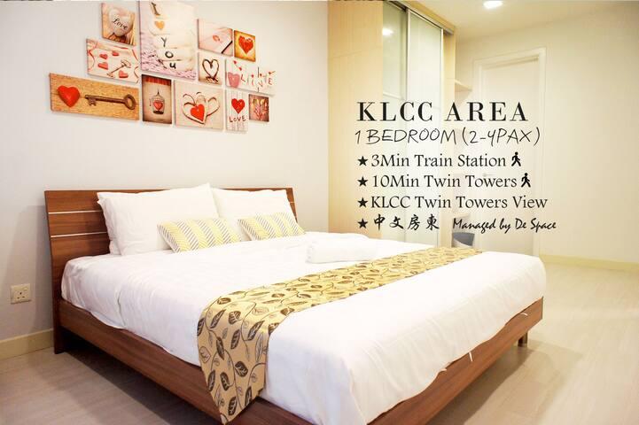 #B10 Cozy 1 Bedroom Apartment (Family),KLCC