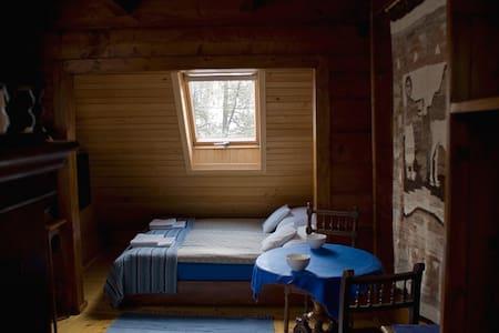 Trzy pokoje w siódmym niebie - pokój z lamą