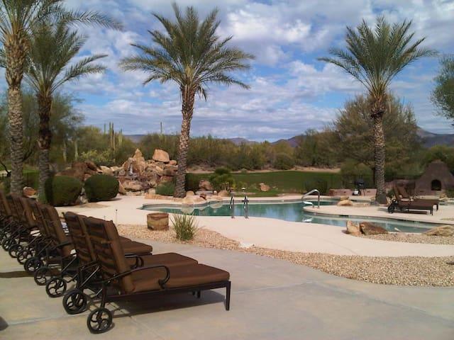 Rancho Manana Resort Pool Sitting