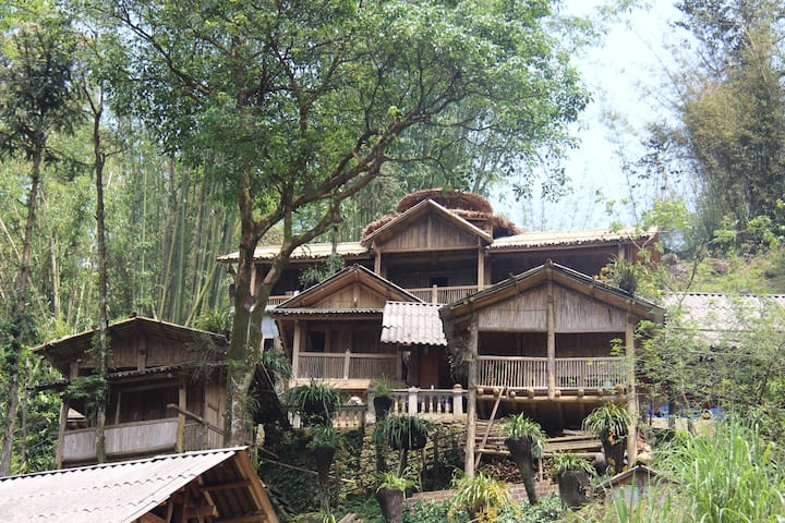 authentic bamboo house