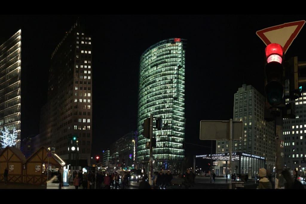 potsdamer platz top spot studio 1 wohnungen zur miete in berlin berlin deutschland. Black Bedroom Furniture Sets. Home Design Ideas