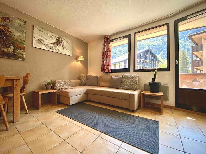 Ultimate location - 1 bedroom in Chamonix Centre