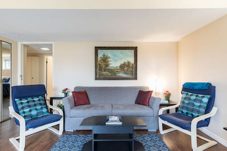 Best central Mt. Pleasant  2 bedroom w park nearby