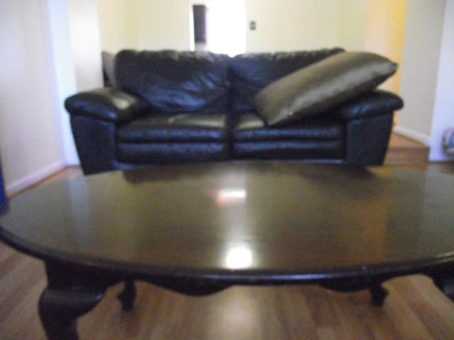 Leather Loveseat - Silver Spring - Casa adossada