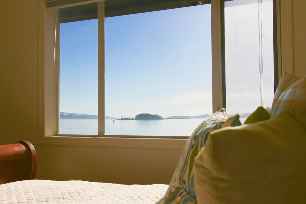 Amazing ocean view from the bedroom