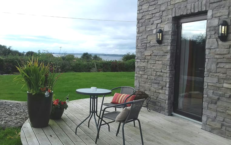 Your own private deck with lough views